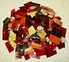 Mosaic Tiles - 3 Lb Red Orange Yellow Tone Mix Value Pack