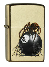 Zippo EIGHT BALL CON Spider 60000649 Primavera 2015 Street Cromo