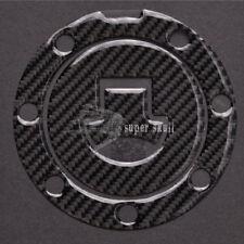 Blk Carbon Fiber Fuel Gas Cap Cover Pad Sticker Decal For Honda CBR600RR/1000RR