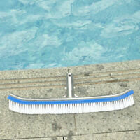 FP- 18 inch Aluminum Handle Swimming Pool Cleaning Brush Pond SPA Wall Cleaner T