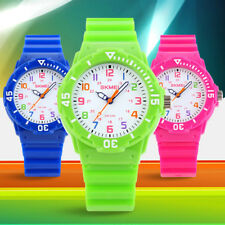 Student's Fashion Sports Watches Water Resistant Children's Analog Wristwatches