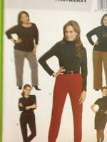 Butterick Sewing Pattern 5539 Ladies / Misses Skirt Pants Size 18W-24W UC