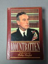 Mountbatten by Philip Ziegler (1st edition, signed, hardback)