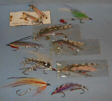 Vintage Fishing Streamer Flies East Grand Lake Me Area Lot # 1 of Several