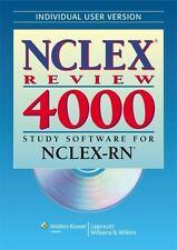 Nclex 4000: NCLEX Review 4000 : Study Software for NCLEX-RN (2008, CD-ROM, Wind…