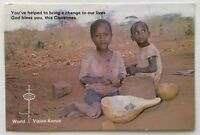 World Vision Kenya Dear Sponsor 1990 Postcard (P262)