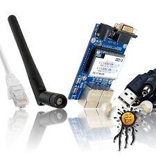 no USB OS X Sierra El Capitan Ethernet 2 WLAN WIFI RS232 inkl. Antenne Kabel Set