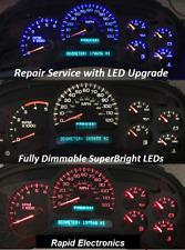 Chevrolet Avalanche Suburban 2003 - 2006 Instrument Gauge Cluster Repair + LEDs