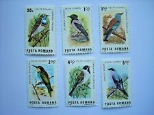 ROMANIA 1983 BIRDS OF DANUBE DELTA SET MNH SG4795/4800