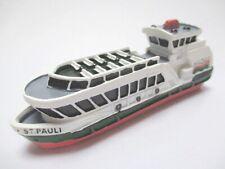 Schiff MS St. Pauli Hamburg Passagierfähre,11 cm Polyresin Collector Modell