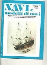 "REVUE  DE MODELISME  NAVAL  ITALIENNE ""NAVI e modelli di navi"" N°9/10 1978"