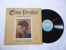 ELVIS PRESLEY ~ INSPIRATIONS ~ NEAR MINT 1980 UK K-TEL VINYL LP ~ NICE AUDIO