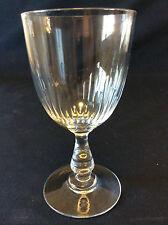 BACCARAT H 12,1 cm verre cristal Gondole jeu d'orgues de côtes creuse XIXe