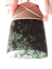 Greenstone Jade Pounamu BOWENITE Maori New Zealand QUALITY TOKI Light Brown Cord