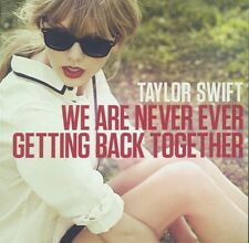 TAYLOR SWIFT - We Are Never Getting Back Together - NM 2012 Pop CD