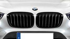 BMW OEM M Black Kidney Grilles SET 2016-2017 F48 X1 28i 28iX 51712407733