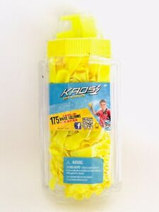 KAOS Get Soaked 175 Recyclable Water Balloons w/ Faucet Filler BRAND NEW