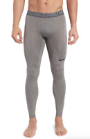 Nike Gray Pro Athletic Tights Men's Size M 69726