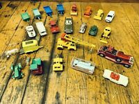 Vintage Lot Of (20) Lesney Matchbox Cars Plus Others Read Description