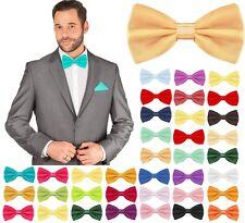 Fliege Schleife Größe verstellbar Busniess Kravatte 12 cm Herren Hochzeit Anzug