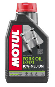 Motul 10w Expert Medium Semi Synthetic Motorcycle Fork Oil