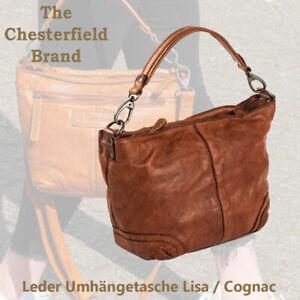 Damen Ledertasche Shopper Umhängetasche Schultertasche Riemen Vintage Leather