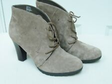 New White Mountain Womens Snack Suede Ankle Boot Beige Size 8M Reg MSRP $89
