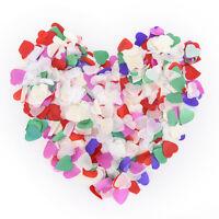 Hot 1000-5000X Wedding Table Confetti Paper Love Heart Party Romantic Decor RS