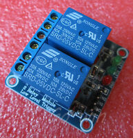 1pcs 5v 2 Channel Relay Module Indicator Light LED Arduino PIC ARM DSP AVR