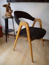 60er WK Möbel Kirschbaum Schreibtisch Stuhl Chair Armlehnstuhl Sessel 60er Magg