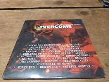 Various – CD Sampler Overcome Volume 2  HARD ROCK !!!!RARE CD!!