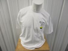 Vintage Usta 2011 U.S. Open Championships Nyc Large White T-Shirt Pre Owned