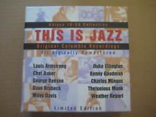 THIS IS JAZZ Original Columbia Recordings EU 10 x CD BOX SET 1996 - COL 484394 2