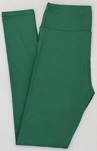 OS LuLaRoe One Size Leggings Beautiful Solid Darkish Green NWT 70