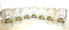 7 Andechser Kloster Andechs Shot Glasses German Beer Glasses