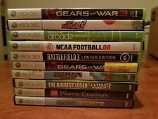 Lot Of 10 Video Games (Xbox 360, Xbox One Compatible) - Excellent Condition