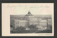 1904 CONGRESSIONAL LIBRARY WASHINGTON DC UDB UNDIVIDED BACK POSTCARD