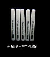 5 - White Liquid Chalk Pen Markers Glass Mirror Marker Office School UK SELLER