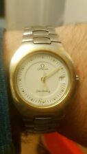 Vintage Rare Solid 18ct Gold & Stainless  Omega Seamaster Polaris Watch