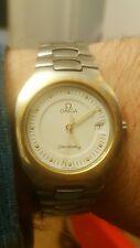 Vintage Raro Sólido 18ct oro y acero Omega Seamaster Polaris Reloj