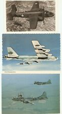 MILITARY BOMBER FORTRESS, B-25,  B-52,   B-29a Superfortress, 3 pcd , 1 posted