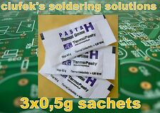 Heat conductive SILICONE paste- Thermo-conductive grease 3x0,5g sachets