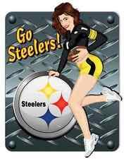 "Pittsburgh Steelers NFL Football Car Bumper Locker Notebook Sticker Decal 4""X5"""