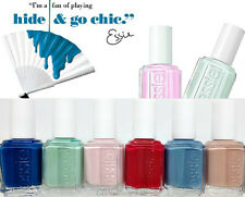 ESSIE Nail Lacquer- HIDE & GO CHIC Spring Collection 2014- All 6 Shades 861- 866