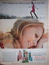 1968 Avon Cosmétiques Cheveux Spray Démêlant Cosmétique Annonce