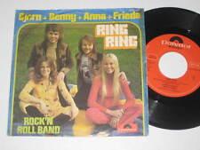 "7""/BJÖRN/BENNY/ANNA/FRIDA/ABBA/RING RING/ROCKN ROLL BAND/2041422 Polydor austria"