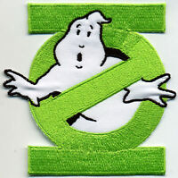 Green Lantern Ghostbusters No Ghost Embroidered Iron-On Patch
