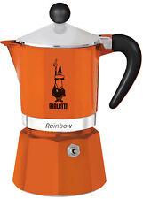BIALETTI - Caffettiera Rainbow Arancio