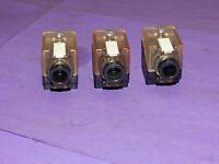 Lot of 3 Murr Elektronik 3129000 Power Control Connector 24VAC/DC 4Amp