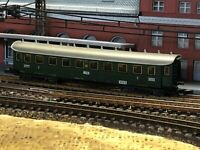 8731 MARKLIN Z-SCALE EARLY ERA PASSENGER CAR-3RD CLASS  - Hamburg-Stuttgart